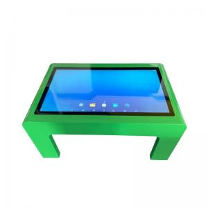 China Waterproof Panel Capacitive Touch Screen Interactive Digital Signage Coffee Table on sale