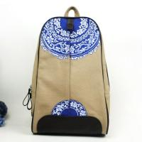 Wholesales Handmade Chinese National Style Womens Fabric Backpacks