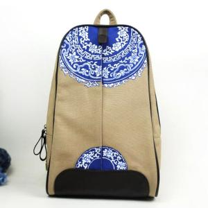 China Wholesales Handmade Chinese National Style Womens Fabric Backpacks on sale
