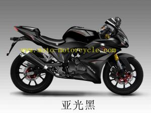 Suzuki Wind Cooled 250cc Black Drag Racing Motorcycles For Men For