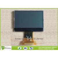 China 128x64 SPI Interface COG LCD Module With White LED Backlight ROHS Certification on sale
