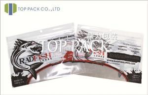 China Window Plastic Ziplock Bags , Ziplock Plastic Stand Up Pouches on sale