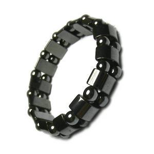 China Bracelets d'aimant de mode de bracelet magnétique naturel d'hématite du Brésil rétros on sale