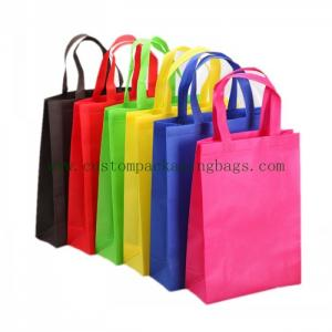 China Good Quality Foldable Stand Up  Non-woven Shopping Bags Foil Laminated Withstand Heavy Weight on sale