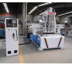 China 5 Axis Woodworking CNC Router Machine Auto Seeking Original Point System on sale