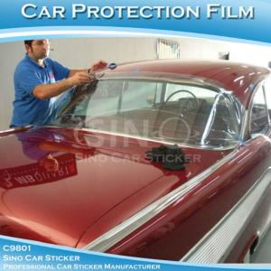 China SINO PVC Material Stretchable Car Paint Protection Vinyl Film 1.52x15M on sale