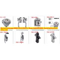 Industrial electric cabinet lock,quarter turn latch made of zinc alloy