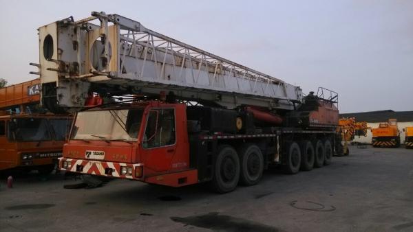 Used TADANO TG-1500E 150T Truck Crane For Sale Original japan TADANO