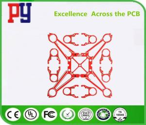 China 4 Layer FR4 PCB Board 4 MIL 0.2MM PCB Special Shape Halogen Free Impedance Fabrication 1.2mm on sale
