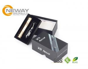China SGS Approval Electronics Packaging Boxes , Paper Boxes For Electronic Cigarette on sale