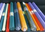 Clear and  Colored Borosilicate  Glass Rods Colorful Glass  Rods