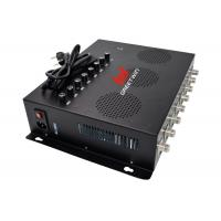 China 80W 2G 3G 4G Mobile Phone Signal Jammer With 8 Antennas For Prison Security on sale