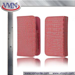 China Luxury Crocodile Skin Leather holster for Electronic cigarette sleeve case cover for e-cigarette on sale
