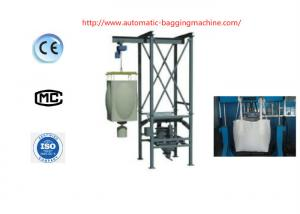 China Heavy Duty Bulk Bag Unloader / Bulk Bag Discharger With PLC Controller Interface on sale