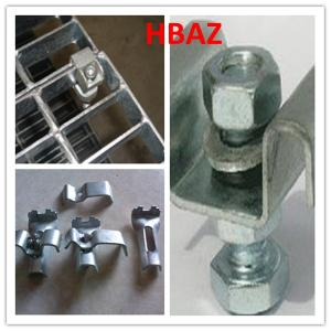 Galvanized Grating Saddle Clips Fixing Grating Clips For