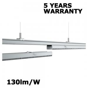 China White LED Linear Light 130LM/W 60W 7800lm For Supermarket / Office Lighting on sale