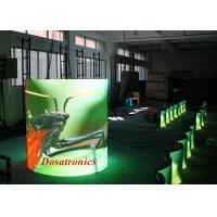 Custom Aluminum Flex LED Video Wall , P6 Curved LED Display High Definition
