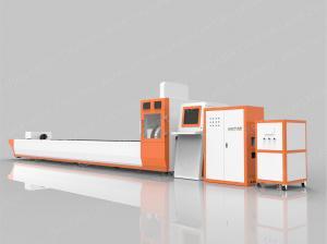 China 500W CNC Laser Cutting Machine Fiber Laser Cutting System High Efficiency on sale