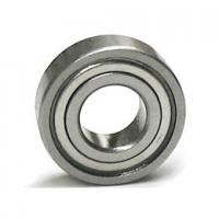 Deep Groove Sealed Ball Bearings / 16001-2Z U Groove Bearing Chrome Steel