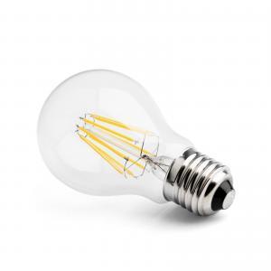 China E27 2W-10W 85-265V AC Filament Full Milky Glass A60 warm white LED Bulb on sale