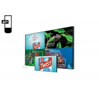 China 55 Inch Ultra Thin Seamless Lcd Wall For Shopping Malls on sale