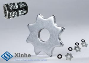 China 8 Points Replacement Cutters Edco Scarifier Parts For Surface Milling Machines on sale