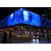 IP65 16 Bit High Transparent Glass LED Display For Media Facade / Show / Exhibition