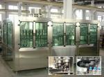 Máquinas de rellenar de consumición del agua pura con Rinser 40/llenador 40/capsuladora 10