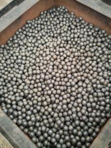 China Dia 20 - 40mm Precision Steel Balls Hot Rolling Forged For Ball Mill on sale