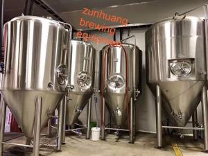 China Multi Volume Craft Beer Fermentation Tank Stainless Steel Material For Beer Storage on sale
