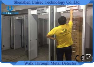 China High Density Fireproof Multi - Zones Security Archway Metal Detector 2 Years Warranty on sale