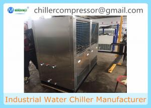 China SS316L Material Food Grade Air Cooled Water Chiller for Food Dairy processing on sale