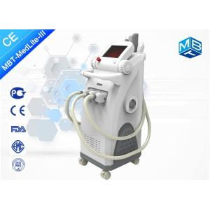 China Medical CE / SHR hair removal machine with IPL RF ND Yag for all in beauty salon or clinic on sale