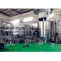 Food Stage Carbonated Beverage Filling Machine High Speed For Different Bottles