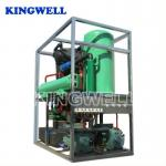 Favourable Tube Ice Making Machine , Restaurant Ice Maker Water Cooling