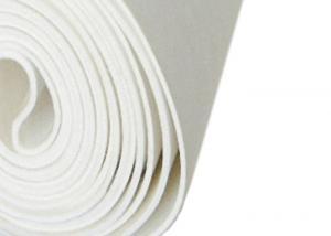 China Laminated BOM Paper Mill Dryer Felt , Paper Making Felt White Color on sale