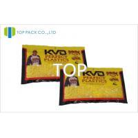 Yellow MOPP / VMPET / PE Miniature Ziplock Bags Food Grage 80mic