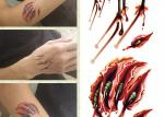 Custom Printed Temporary Body Art Tattoo Stickers For Adults Long Lasting