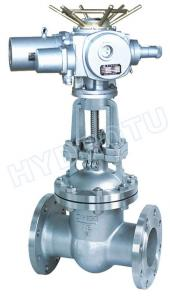 China Hydropower Equipment Manual / Electric flanged Gate Valve /Sluice Valve on sale