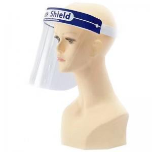 China Comfortable Wear Protective Face Shield With Adjustable Elastic Headband on sale