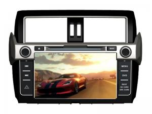 China Toyota gps navigation car dvd player with bluetooth radio for prado 2014 on sale