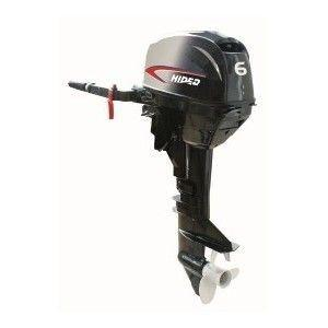 China HIDEA 2 Stroke 6hp Marine Outboard Engines Long Shaft Outboard Motor on sale