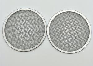 China Food Grade Ss 304 Wire Mesh Filter Screen SGS Certification For Distill on sale