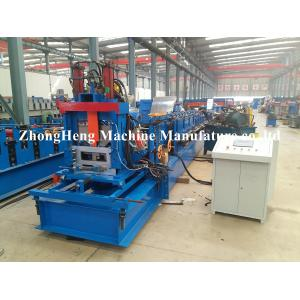 China Petit pain en acier de Purlin du profil C Z formant le moteur hydraulique de machine largeur de 80mm - de 300mm on sale