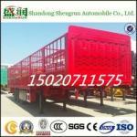 Popular Type of Stake Cargo Semi Trailer in Africa
