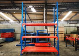 China Custom Powder Coated Heavy Duty Industrial Shelving For Warehouse With Steel Plate on sale