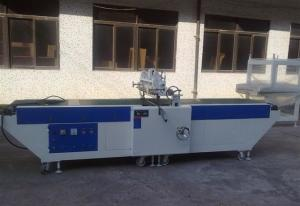 China Woodworking Topcoat  Curtain Coating Machine, 600mm max coating width on sale