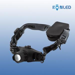 China 150 Meters Cree XPE-R3 Led Headlight Waterproof And Anti-scratching For Travelling on sale
