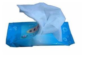 China Nature Nonwoven Fabric White Baby Wet Tissue / Alcohol Free Baby Wipes on sale