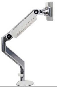 China LCD Monitor Arm, single monitor arm, aluminium, color: silver, black , white on sale